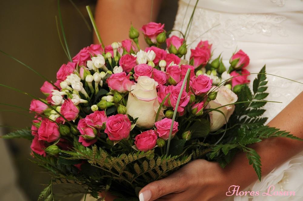 ramos de novia flores losan