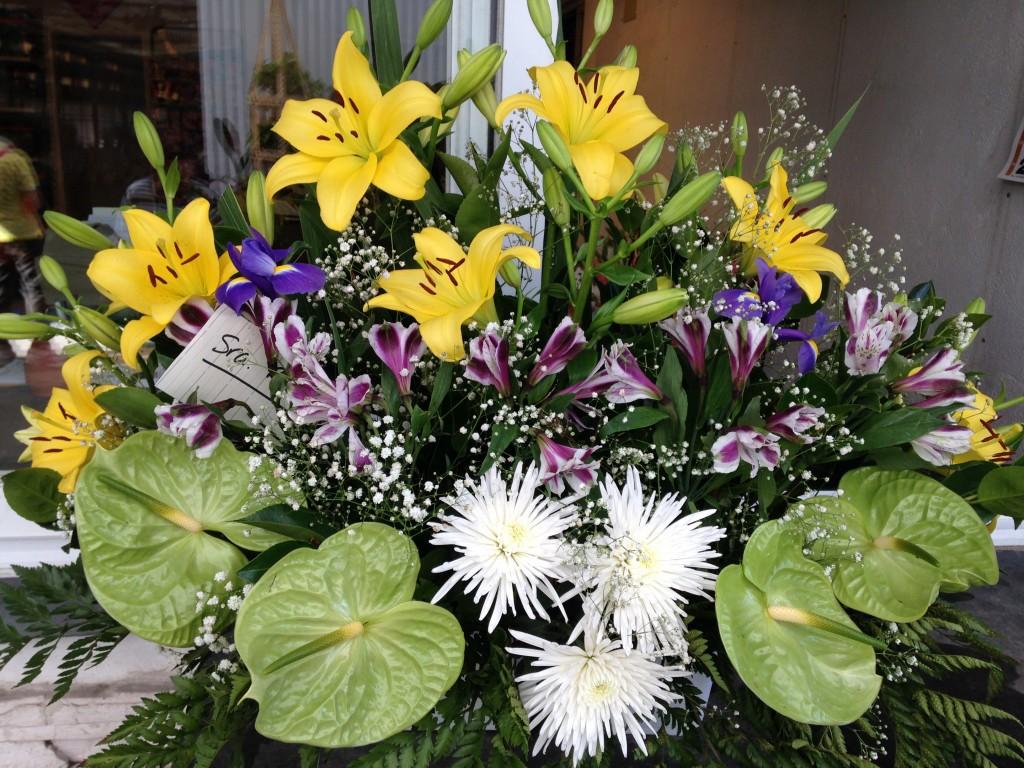 Envío flores tanatorio Collado Villalba
