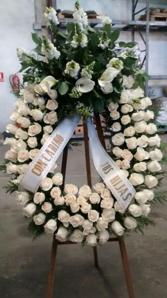 Coronas y arreglos funerarios Collado Villalba